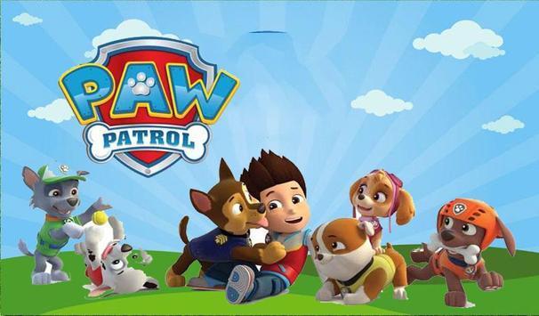 Paw Patrol Running poster