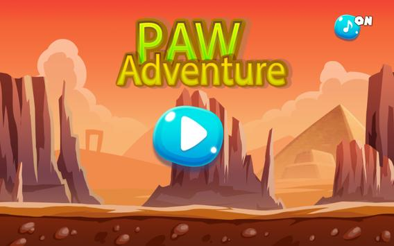 Paw Adventure Puppy World poster