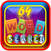 64 Word Search Puzzle Game icon