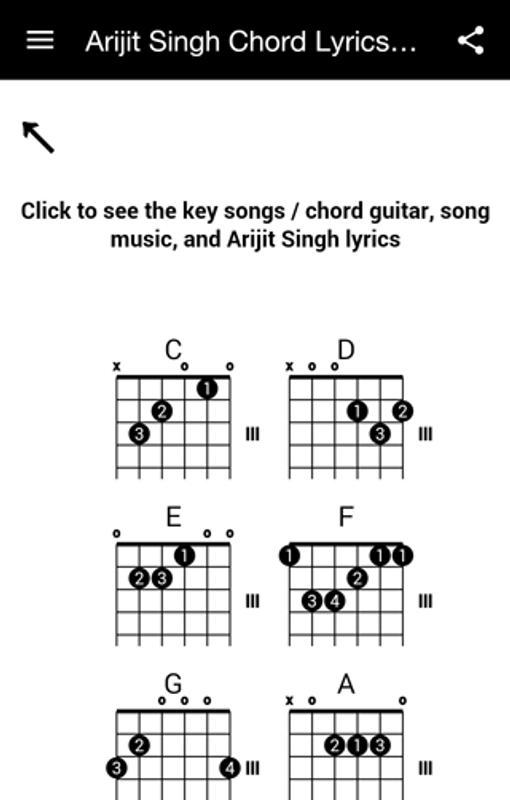 Arijit Singh Chord Lyrics Mp3 APK Download - Free Entertainment APP ...