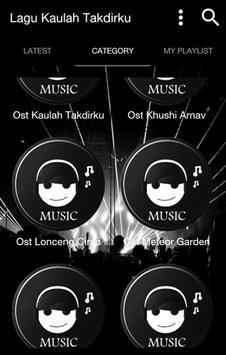 Lagu Kaulah Takdirku apk screenshot