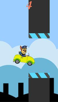 Paw Flappy Game screenshot 1