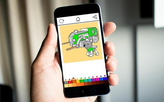 Paw Coloring Kids screenshot 2