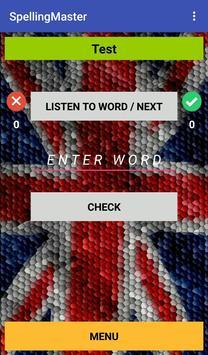 SpellingMaster apk screenshot