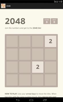 2048 - the best game apk screenshot