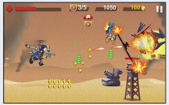 Paw Helicopter War Patrol apk screenshot