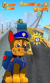 Rash Paw Subway Puppy apk screenshot