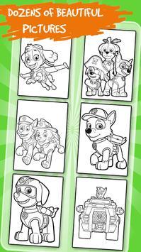 Kids Coloring for Paw Pups apk screenshot