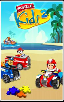 Paw Puzzle Car 2 poster