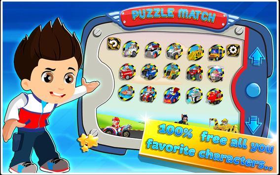 Paw Puzzle Car 2 apk screenshot
