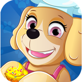 Paw cooking patrol icon