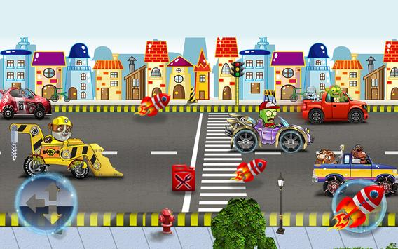 Paw Road Bull Battle apk screenshot