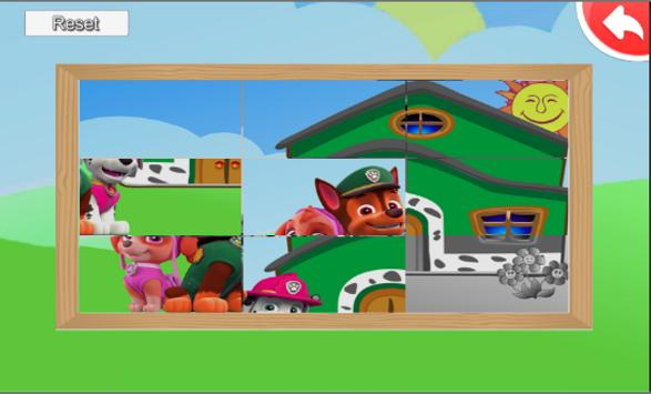 puppy paw patrol puzzle screenshot 4
