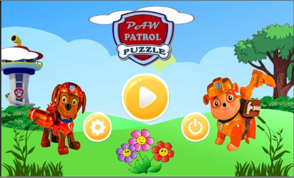 puppy paw patrol puzzle poster