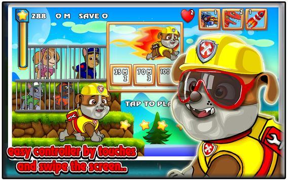 Super Paw Rubble World apk screenshot