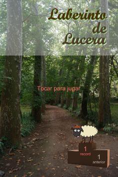 Lucera's labyrinth poster