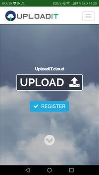 UploadIT cloud poster