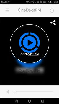 OneBeatFM apk screenshot