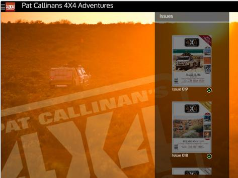 Pat Callinan's 4X4 Adventures apk screenshot