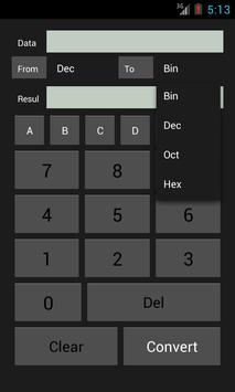 Base Converter screenshot 3