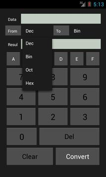 Base Converter screenshot 2