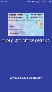 Pan card apply online apk download free business app for android pan card apply online poster reheart Image collections