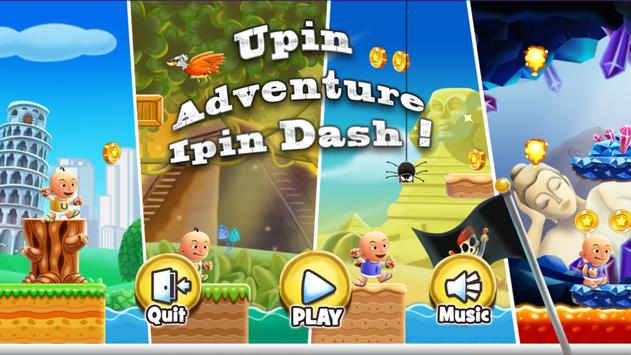 Upin Adventure With Ipin poster