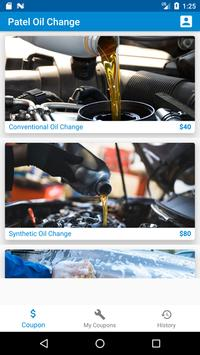 Patel Oil Change poster