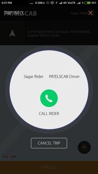 Patelscab Partner screenshot 3