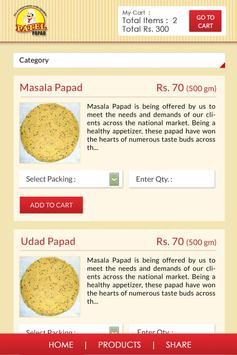 Patel Papad screenshot 2