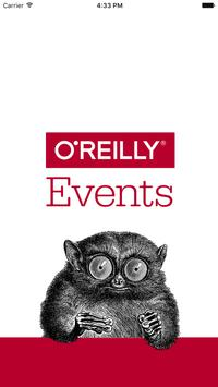 O'Reilly Events App poster