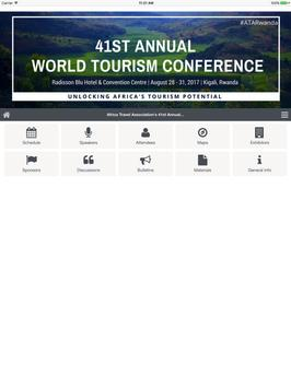 41st Annual World Tourism Conference apk screenshot