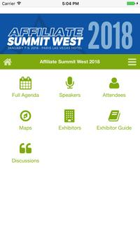 Affiliate Summit West 2018 poster