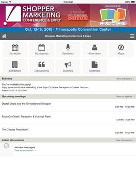 Shoppers Marketing Expo 2015 screenshot 3