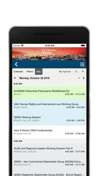 ICANN Events apk screenshot