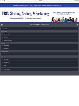 PBIS Leadership Forum apk screenshot