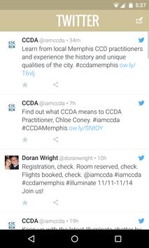 CCDA 2015 apk screenshot
