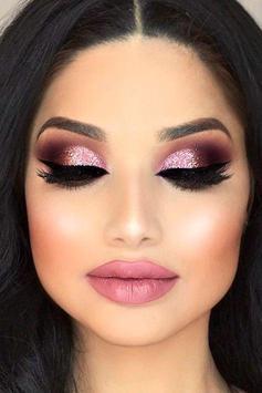Glitter Eye Makeup poster