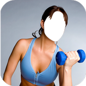 Women Fitness Photo Editor icon