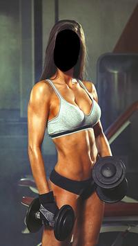 Women Fitness Photo Editor poster