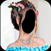 Women Hairstyle Photo Editor icon