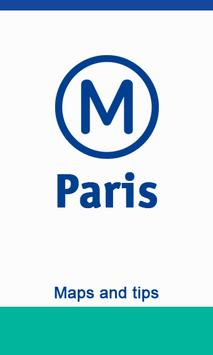 Metro Map Paris - Map and Tips poster