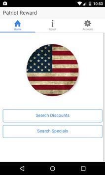 Patriot Reward screenshot 1