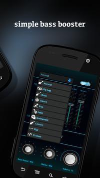 Bass booster - Equalizer HD apk screenshot