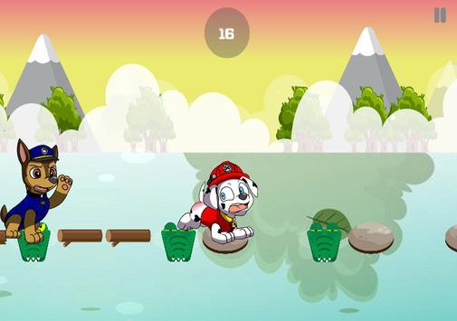 Patrol Jump Games For Paw Puppy Version apk screenshot