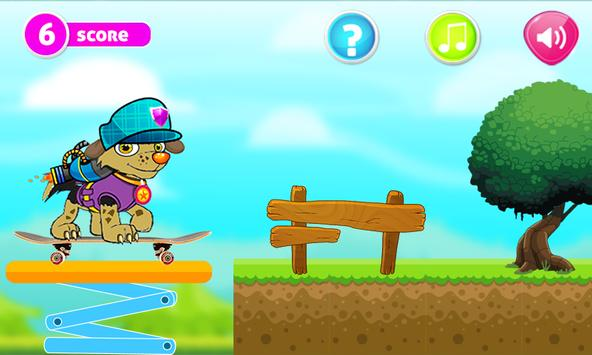 Paw Puppy adventure patrol apk screenshot