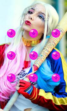 Locks Pattern Harley Quinn apk screenshot