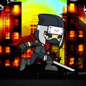 Ninja Man Falling Down 2017 icon