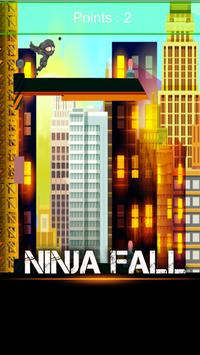 Ninja Man Falling Down 2017 apk screenshot