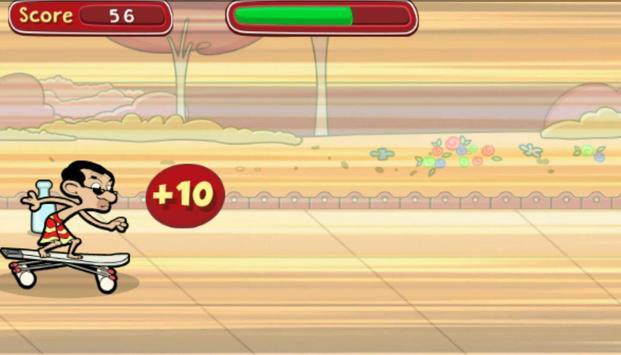Mr Bean Skidding screenshot 2